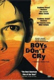 Meninos Não Choram (Boys Don't Cry) - Poster / Capa / Cartaz