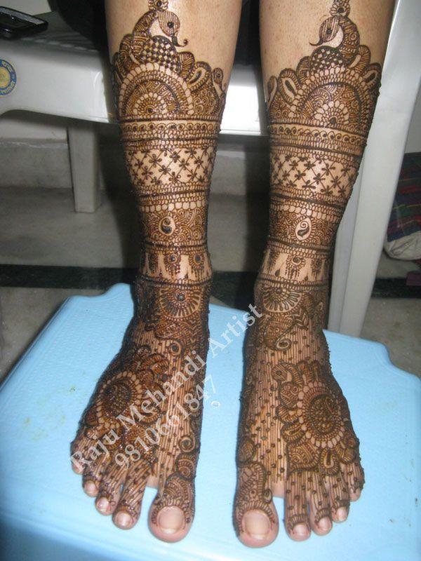 best foot mehandi arts