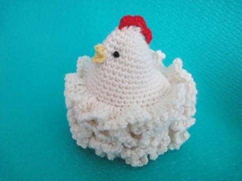 Easter chickens пасхальные вязаные курочки вязание крючком crochet pattern for free - YouTube