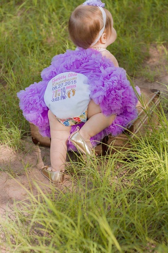 Birth Stat Diaper Cake Smash Rueberry Rumps One by RueberryRumps