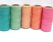 Knotting Cord Macrame Thread Waxed Polyester Cord by ColorSupply
