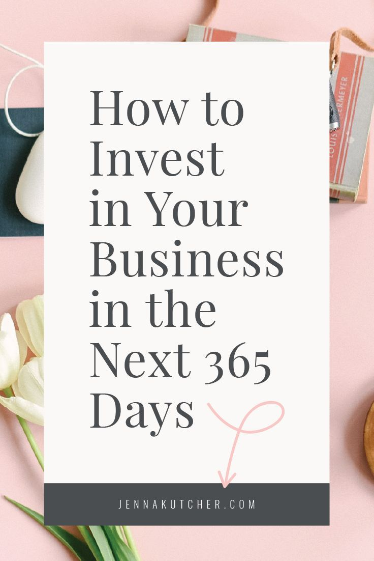 Jenna Kutcher shares her best tips for how to invest in your business in 2018.  Read the article here: http://jennakutcherblog.com/how-to-invest-in-your-business-in-the-next-365-days/