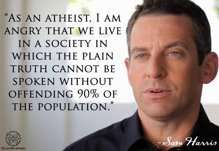 Sam Harris on atheism and truth! Religion, skepticism atheist