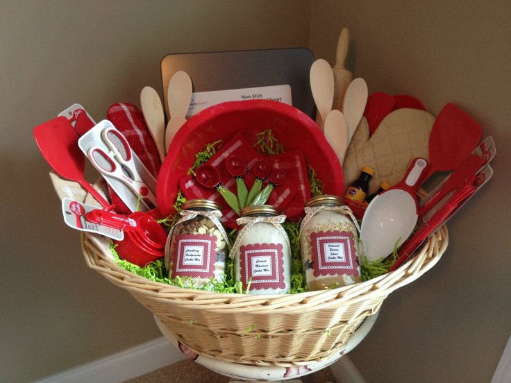 gift basket of kitchen goodies - Kitchen Gift Basket Ideas