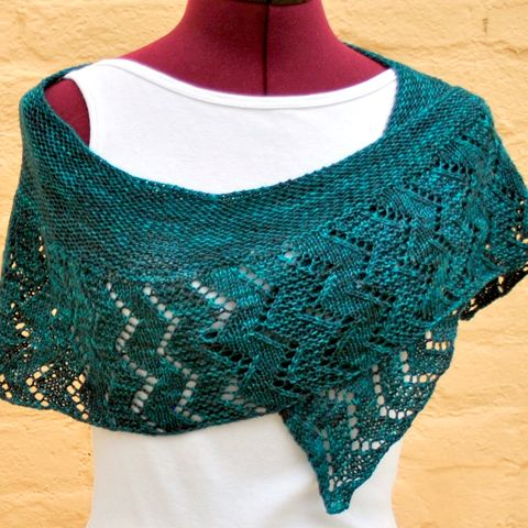 NobleKnits.com - Mindy Wilkes Thunder Moon Shawl Knitting Pattern, $6.95 (http://www.nobleknits.com/mindy-wilkes-thunder-moon-shawl-knitting-pattern/)