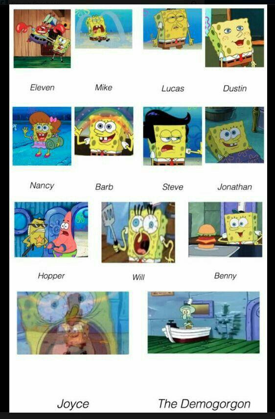 Sponge Bob knows the future