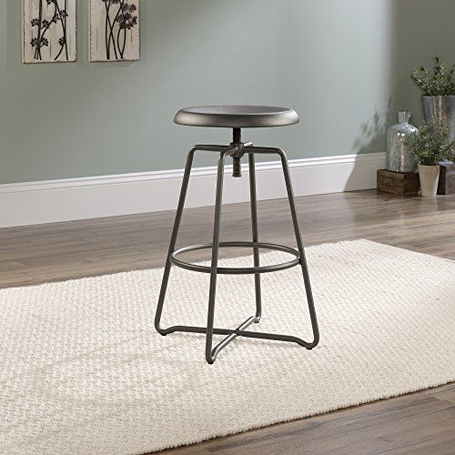 Special Offers - Sauder Woodworking Carson Forge Adjustable Counter Stool - In stock & Free Shipping. You can save more money! Check It (June 28 2016 at 02:34AM) >> http://sofaarmchairusa.net/sauder-woodworking-carson-forge-adjustable-counter-stool/