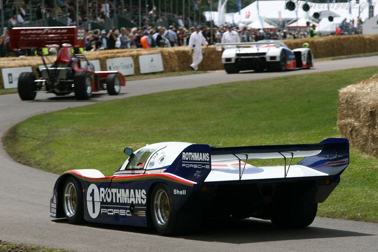 Porsche 956 (Chassis 956-001 - 2007 Goodwood Festival of Speed) High Resolution Image
