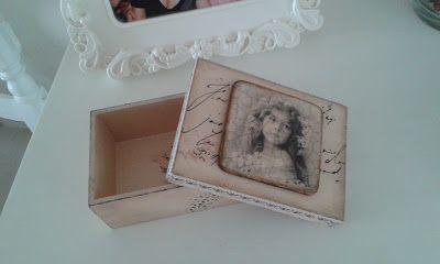 something to create: Decoupage box
