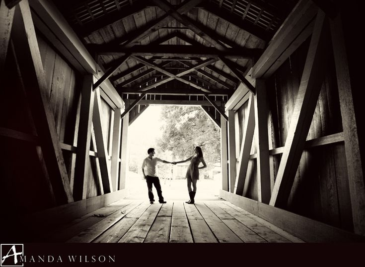 engagement photos covered bridge - Google Search