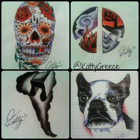 Kendall Schmidt's tattoos