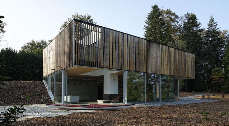 26 best Maison bois comptemporaine images on Pinterest - classe energie e maison