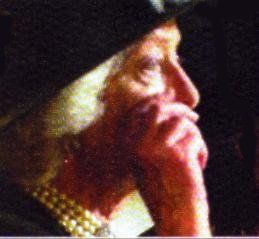 """A heartbreaking photo of Diana's mother, Frances wiping away tears at her daughter's funeral. She later stated, """"Strange though it may seem, my daughter's funeral was probably the proudest day of my life. Proud of her, proud of my elder daughters who were rock steady in their readings, and my only son who gave the ultimate tribute of brotherly love for her."""""""