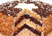Вкусный домашний торт «Сметанник» — это очень вкусный, нежный торт, простой в приготовлении, из легкодоступных продуктов