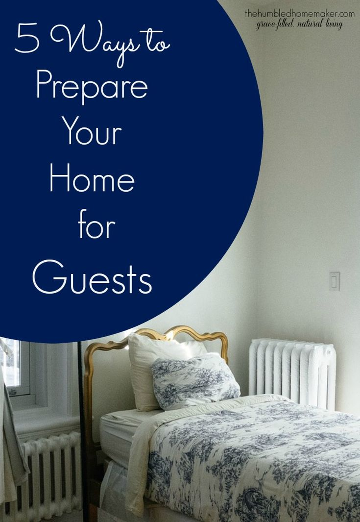 With the holiday season approaching, you might be wondering what are some efficient ways to prepare your home for guests. Check out these five!