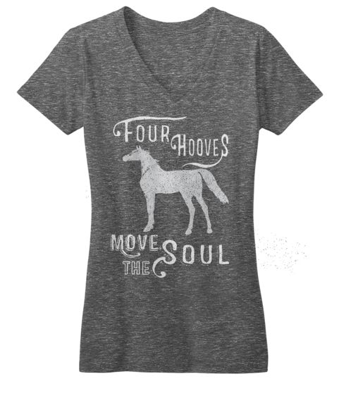 Four Hooves Move the Soul tee by One Horse Threads One Horse Threads Tees + Outfit Styling
