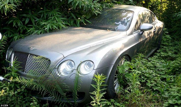 Abandoned Bentley