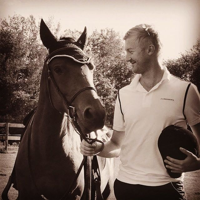 Still in love with this beautiful picture of my future husband / fiancé with our family horse Mazel Tov
