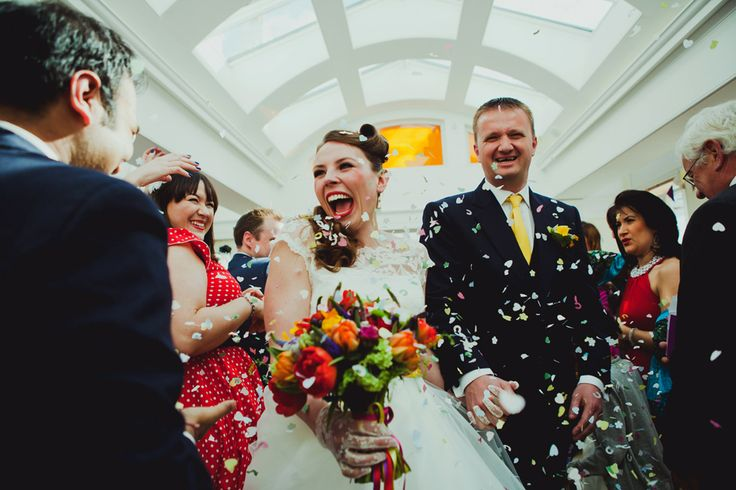 """Awesome wedding photographs by Amy B Photography. For more Alternative Wedding inspiration, check out the No Ordinary Wedding article """"20 Quirky Alternatives to the Traditional Wedding""""  http://www.noordinarywedding.com/inspiration/20-quirky-alternatives-traditional-wedding-part-3"""