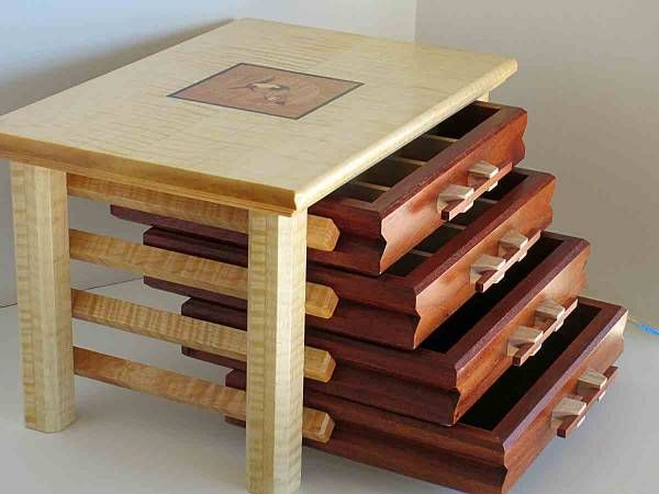 Lastest 12 Best Free Jewelry Box Plans Images On Pinterest