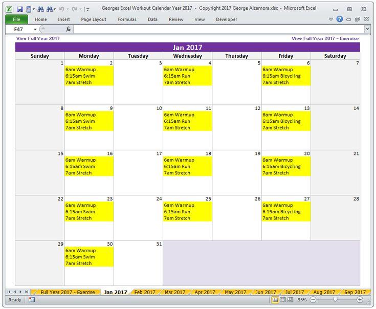 Πάνω από 25 κορυφαίες ιδέες για January 2017 calendar template στο - homework calendar templates
