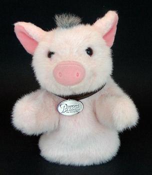 Stuffed Babe Piggy Hand Muppet (010006)
