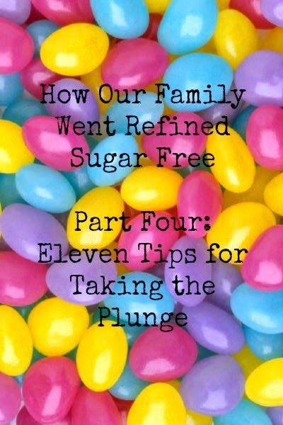 How Our Family Went Refined Sugar Free Part 4: 11 Tips for Taking the Plunge www.thisnaturallysweetlife.blogspot.com