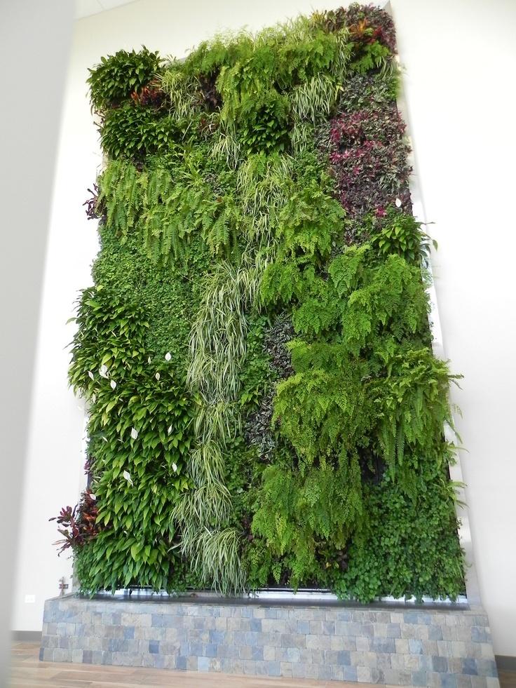 111 best outdoor vertical gardens and green walls images for Outdoor vertical wall garden
