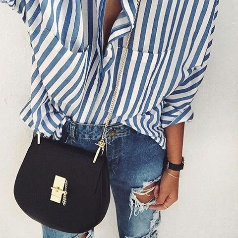 blue essentials for summer   outfit inspiration