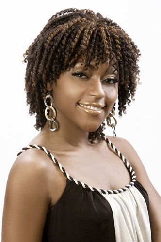 Two Strand Twists Wigs And Strands On Pinterest