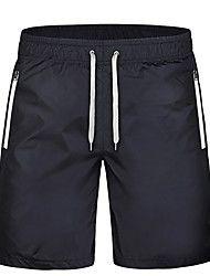 Per uomo Corsa Semi-lungo Pantaloncini /Cosciali Traspirante Asciugatura rapida Compressione Comodo Primavera Estate Autunno Inverno Corsa