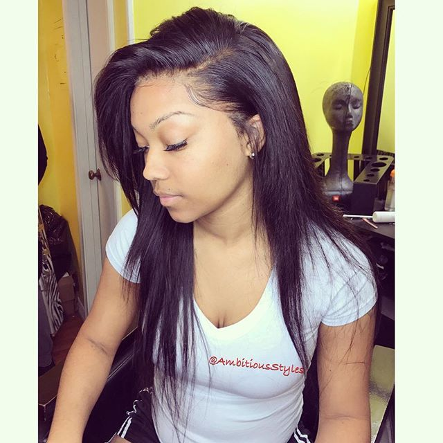 Sew Weave Hairstyles Straight Hair Styling Hair Extensions