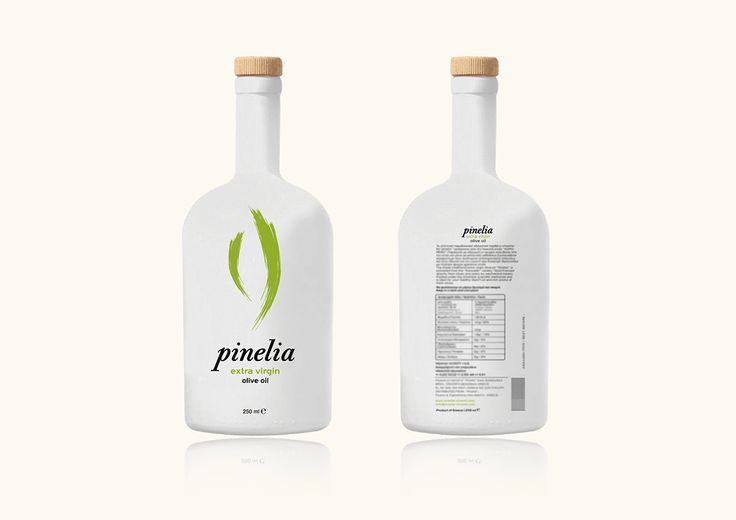 Pinelia olive oil on Behance