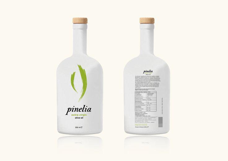 Pinelia olive oil on Behance