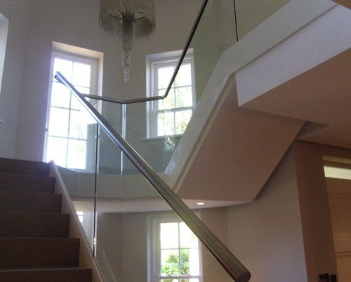 Internal Straight Stairs
