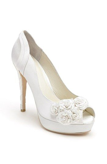 108 best Bridal Shoes images on Pinterest Bridal shoes Shoes