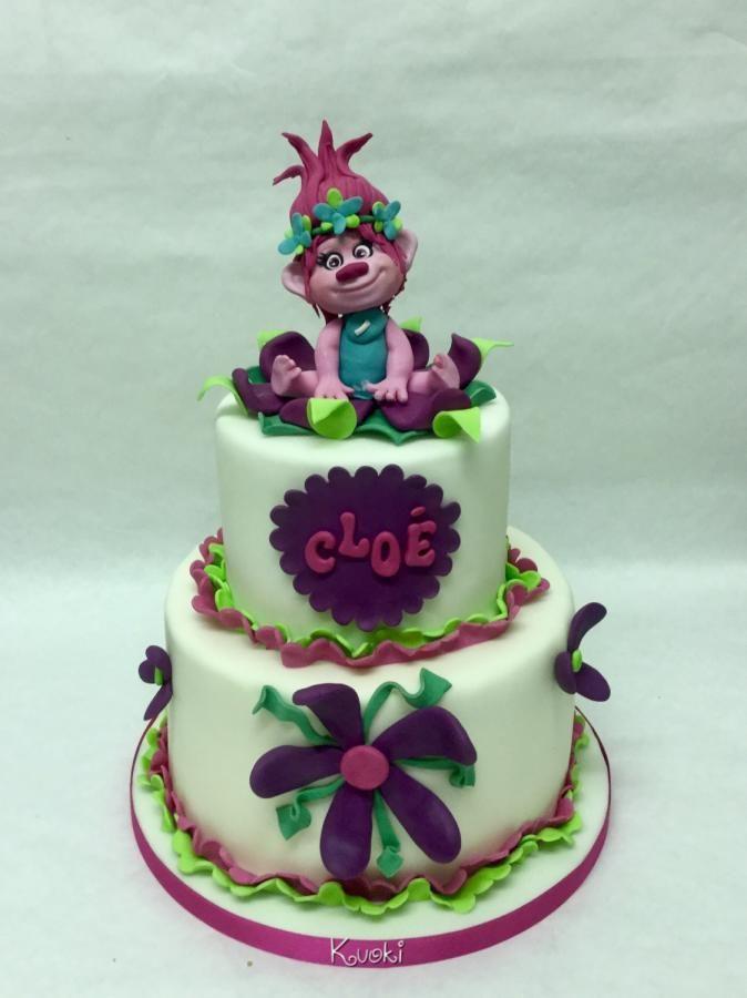 73 best Troll Cakes images on Pinterest Birthday cakes Trolls