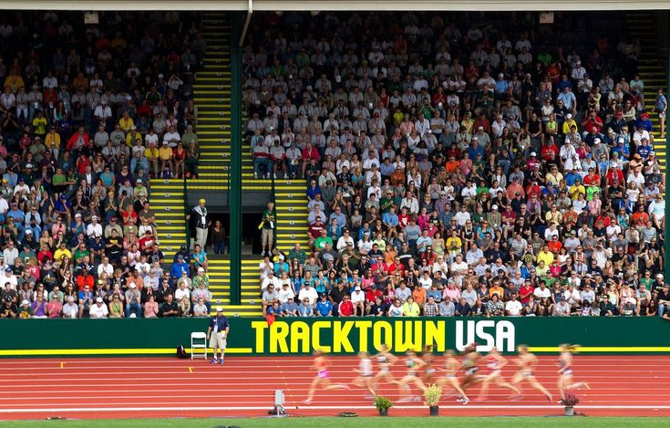 Some argue that the Olympic track and field trials, traditionally held in Eugene, could become too closely associated with the Oregon city and Nike, its deep-pocketed, local sponsor.