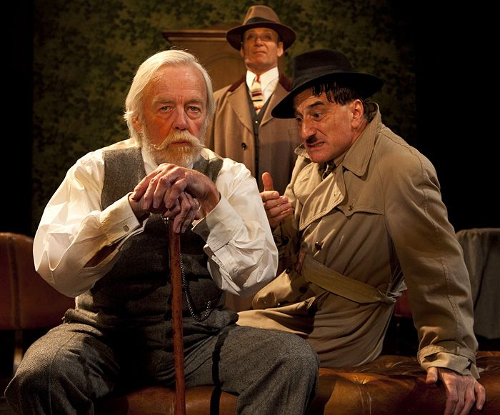 Henry Goodman, Michael Feast & William Gaunt in Brecht\'s Arturo Ui at Chichester. 10th July 2012