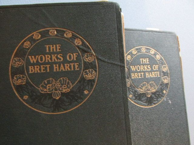 Vintage Book: The Works of Bret Harte-- Two (2) Books 1890's by TheBookE on Etsy