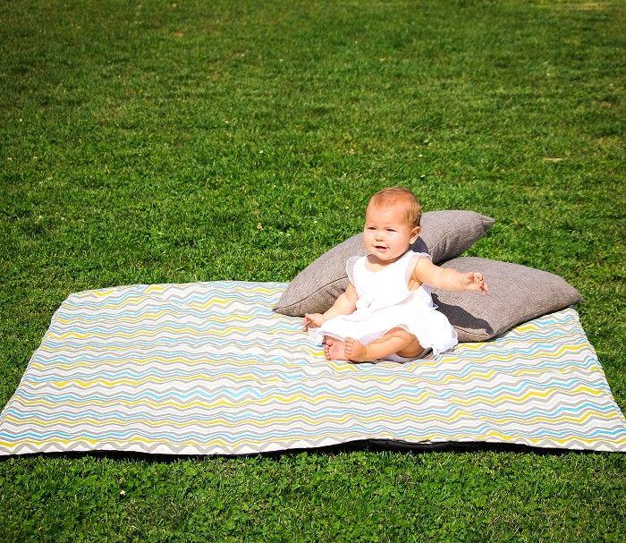 Picnic Blanket Summerland Chevron Emby Love Madeit Au