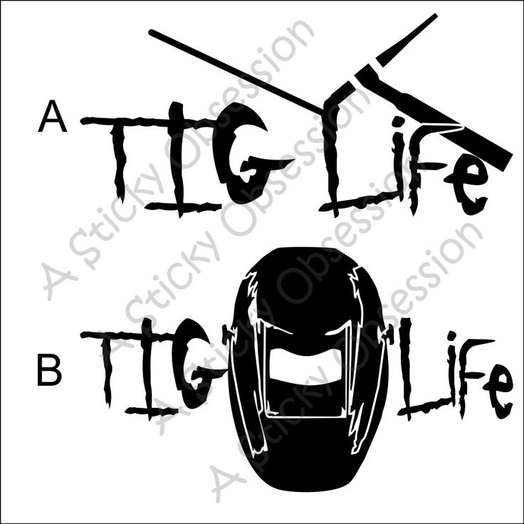 TIG Life TIG Welder Welding GTAW Decal Sticker by ...