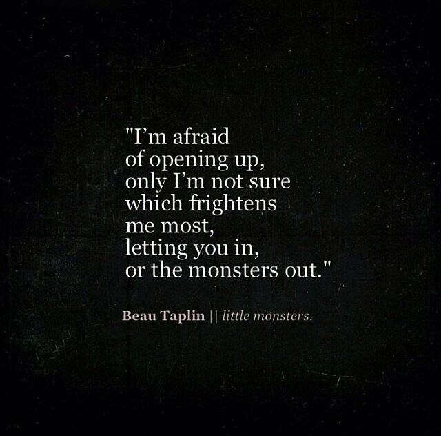 Afraid Of Love Quotes: 74 Best Beau Taplin... Images On Pinterest