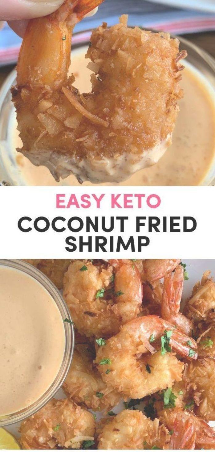 Easy Coconut Fried Shrimp- Air Fryer or pan fried shrimp. These coconut shrimp a…