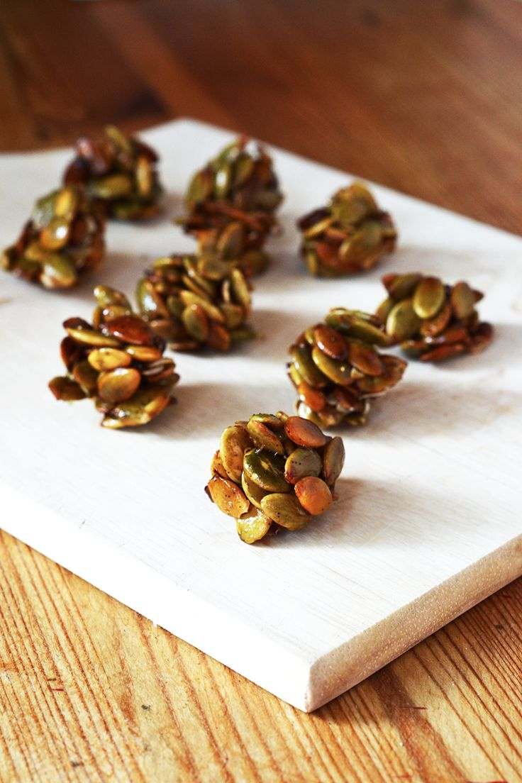 Vanilla Pumpkin Seed Clusters - A deliciously seasonal and healthy snack!