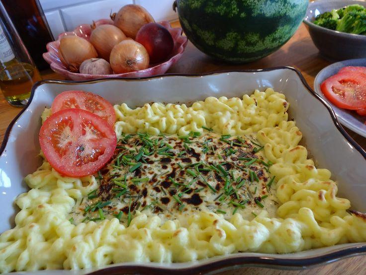 Fiskgratäng med citron och dill - recept