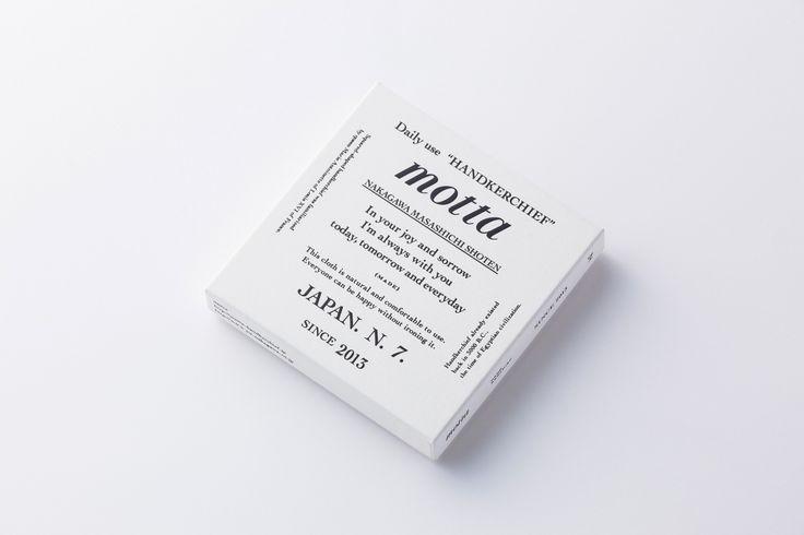 """中川政七商店 """"motta""""   good design company"""