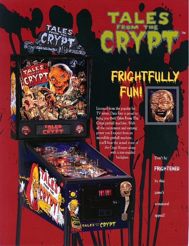 Tales from the Crypt Pinball Machine | The Retroist
