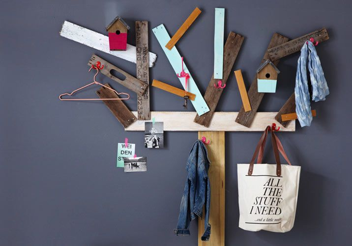 Handmade - Do it yourself: Garderobenbaum