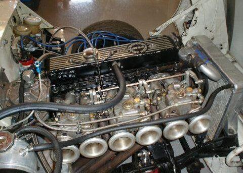 1971 Triumph Vitesse Trans-Am Vintage Racer Engine